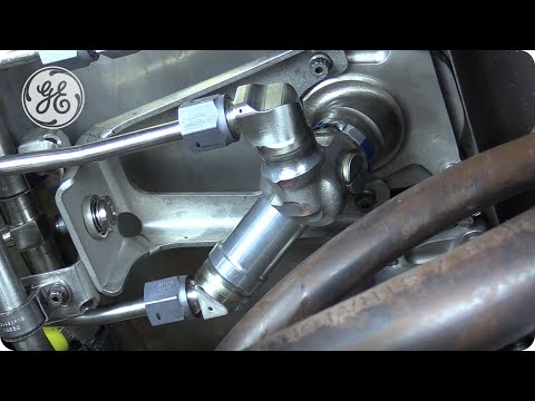 GEnx-1B -  RH Fuel Manifold Bracket Removal & Installation - GE Aviation Maintenance Minute
