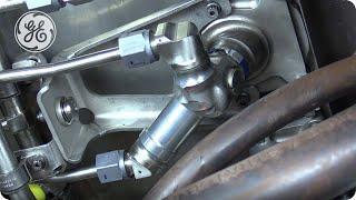 GEnx-1B -  RH Fuel Manifold Bracket Removal & Installation - GE Aviation Maintenance Minute