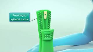 Зубная щётка для собак 2 в 1