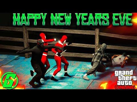 GTA V Online - Happy New Year Day - New Year New Money