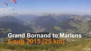 Le Grand-Bornand - Marlens 2015