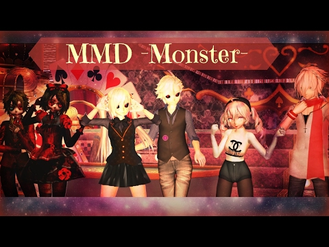 [MMD x Download] ~Monster ~ Meg & Dia