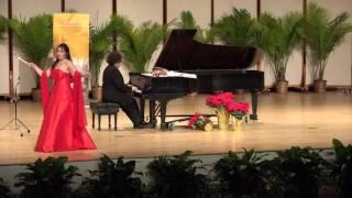 Eglise Gutiérrez, José Ruiz Elcoro - Salida de Cecilia Valdes/Gonzalo Roig-Classically Cuban Concert