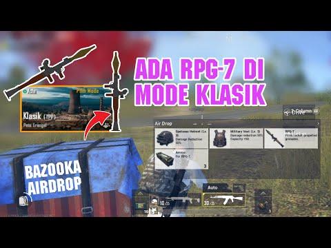 COBAIN SENJATA RPG-7 (BAZOOKA) DI MODE KLASIK PUBG MOBILE