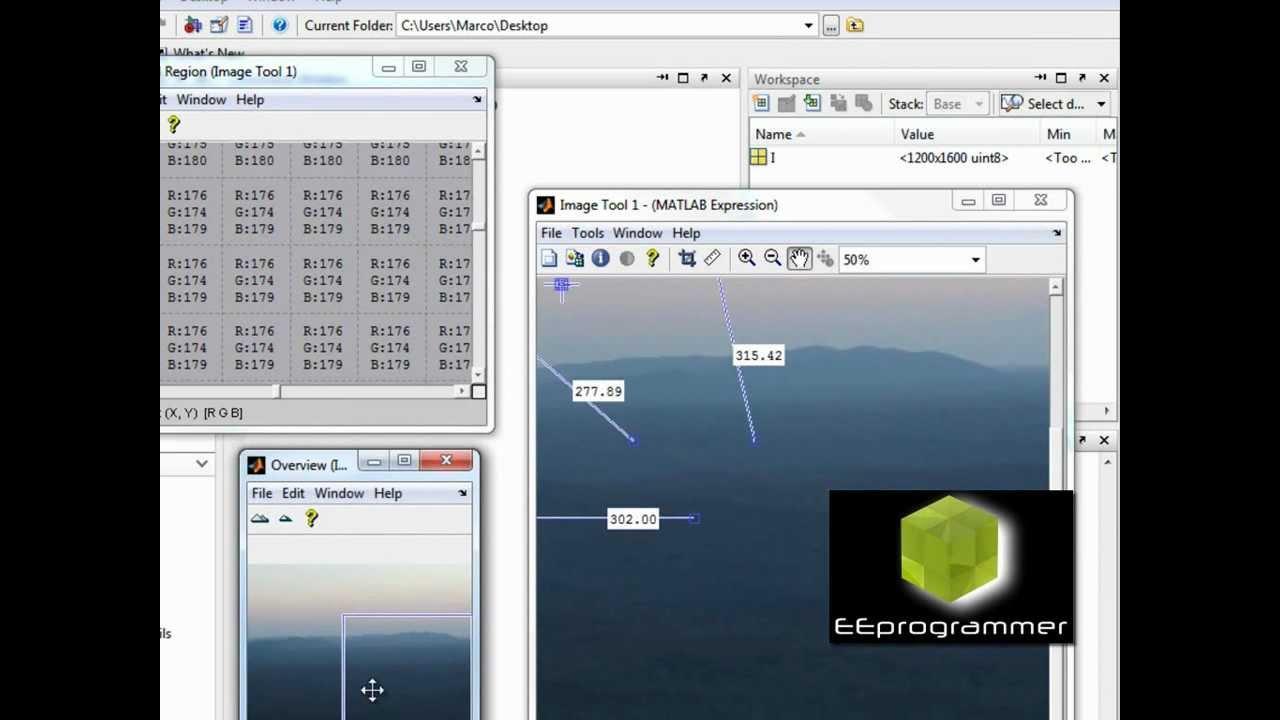 MATLAB tutorial: image processing GUI toolkits