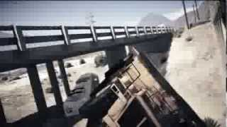 GTA V - Gameplay: Dump Truck VS Train Montage