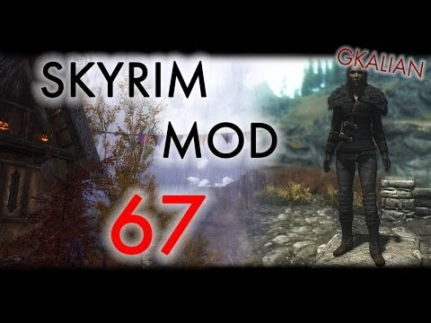 Skyrim: Обзор модов #67 - Face To Face, Wet & Cold - Holidays, Thief Player Home | GKalian
