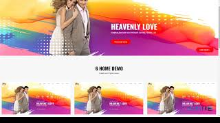 Heavenly Love - Cinema/Movie Bootstrap 3 HTML Template        Kaede D