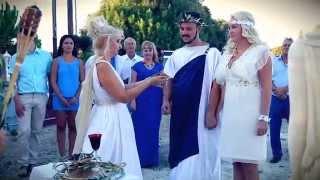 Античная свадьба в Греции Алены & Андрея