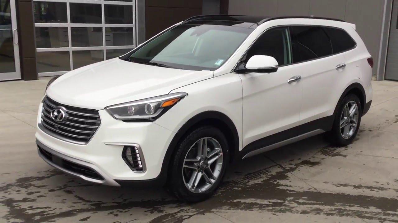 All New 2017 Hyundai Santa Fe Xl Ultimate Edmonton Hyundai Dealer Youtube