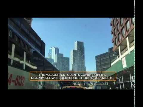 Iyanla Visits Boys And Girls High School in Brooklyn