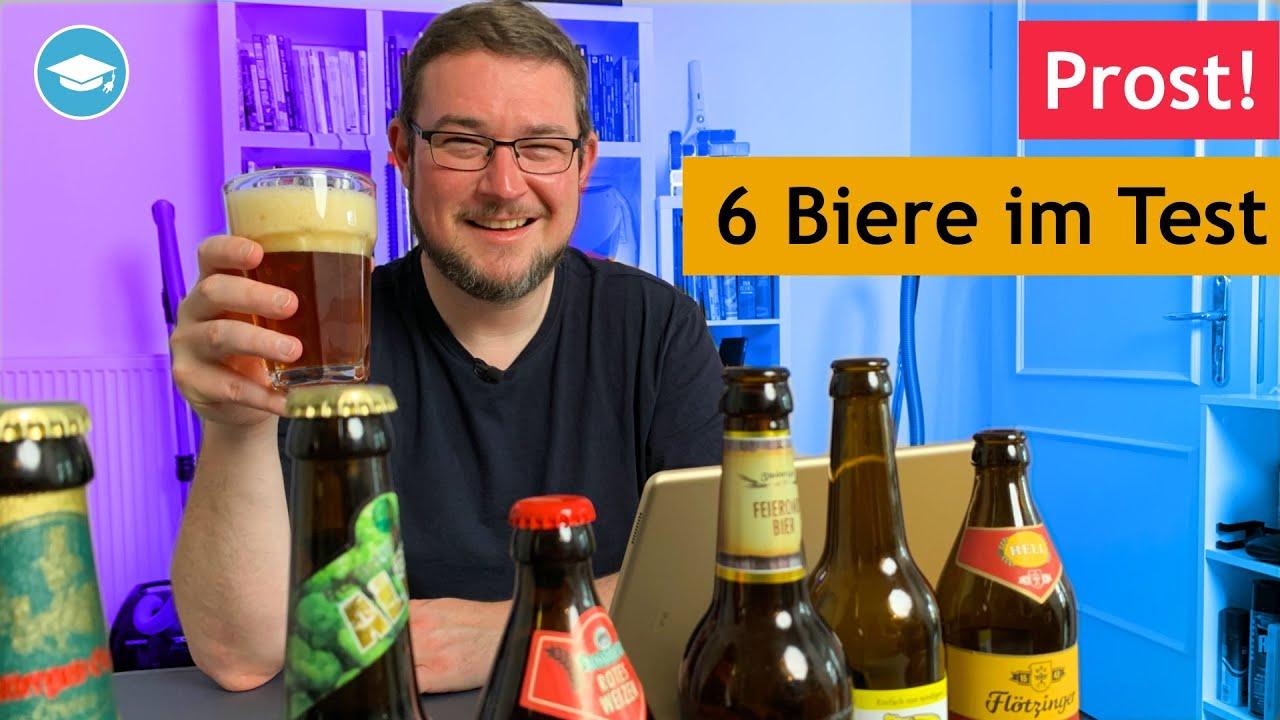 Lecker oder eher bäh? Wir verköstigen 6 Biere aus Deutschland
