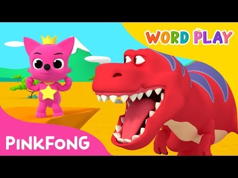 Tyrannosaurus Rex | Word Play | Pinkfong Songs for Children