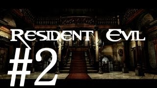 Resident Evil Remake/Archives: Wii/Gamecube HD Jill Walkthrough Part 2 - Dog Whistle!