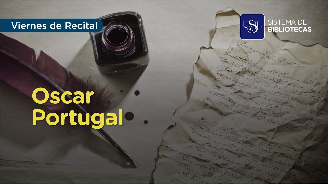 Viernes de Recital: Oscar Portugal