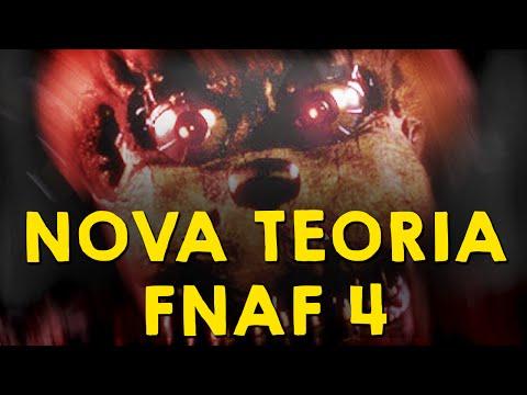 FOMOS ENGANADOS! TEORIA FIVE NIGHTS AT FREDDY'S 4
