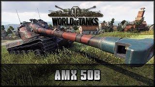 World of Tanks - Live: AMX 50B - Tier X [ deutsch 🐄 gameplay ]