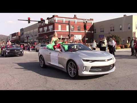 Christmas Parade in Murphy NC 12/02/2017