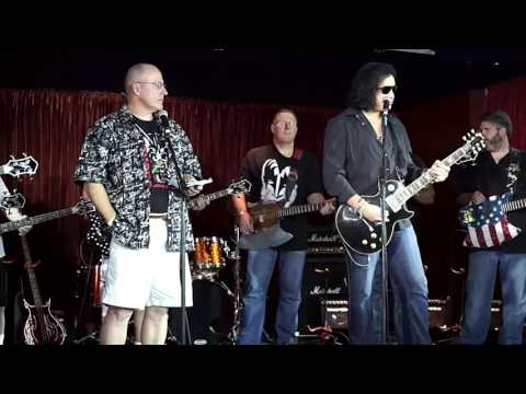 Gene Simmons teaches Lick It Up