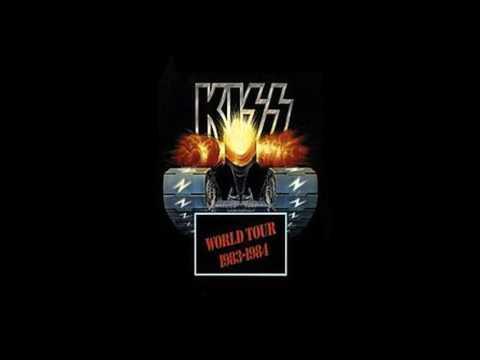 Kiss Concert Announcement 1984 Hampton Coliseum with Aftermath