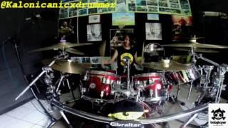 Jamrud Selamat Ulang Tahun Drum Cover by 11 yo Kalonica Nicx