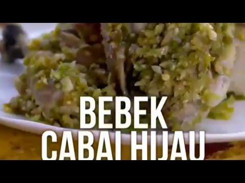 Resep Bebek Cabe Hijau Mantap