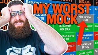 Fantasy Football 2018 Rookie Mock Draft (4-Team)