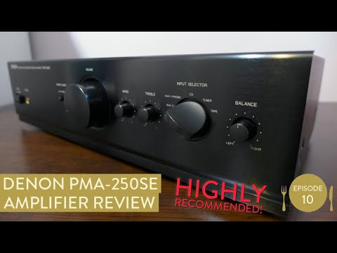 Denon PMA-250SE - Stereo amplifier review - Hifi reviews from Fluteboy