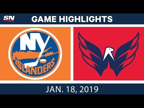 NHL Highlights | Islanders vs. Capitals - Jan. 18, 2019