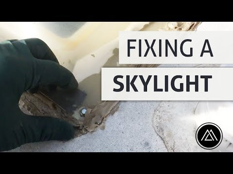 Fixing a Leaking RV Skylight