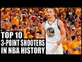 Top 10 3 Point Shooters in Nba History