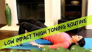 Low Impact Thigh Exercises for Losing Fat