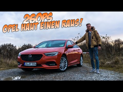 OPEL INSIGNIA   GRAND SPORT   260PS   TEST   REVIEW