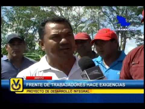 En Delta Amacuro consejos comunales exigen trabajo para desempleados