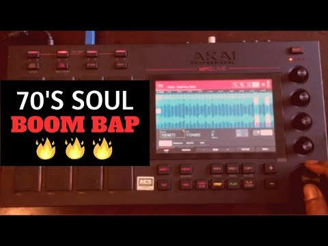 Turning 70's Soul Into Boom Bap Beats | Carolyn Franklin | Chopping Block MPC Live