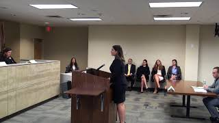 2017 Moot Court Internal Competition