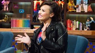 Demi Lovato DISSES Selena Gomez & Justin Bieber on WWHL