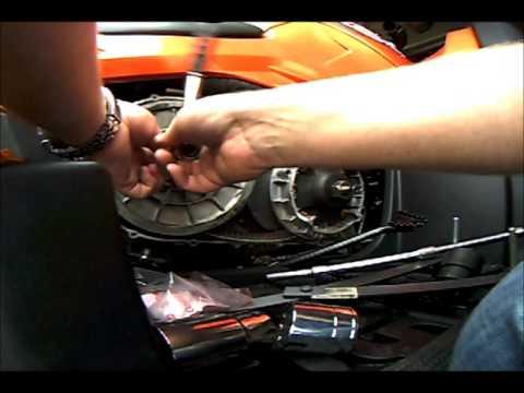 CFmoto X8 CVT belt brake up part 3