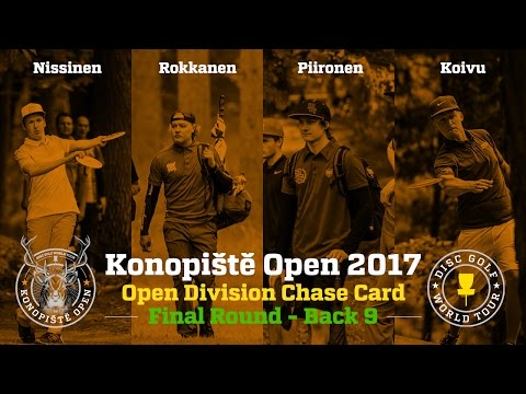 2017 Konopiště Open Chase Card Final Round Back 9 (Nissinen, Rokkanen, Piironen, Koivu)