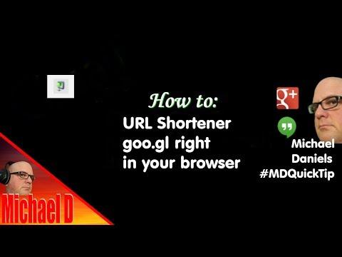 URL shortener goo.gl