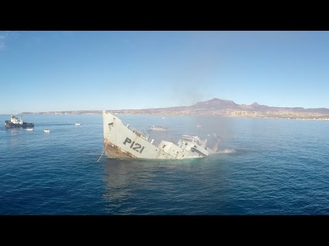 GoPro Awards: Sinking a Mexican Navy Warship