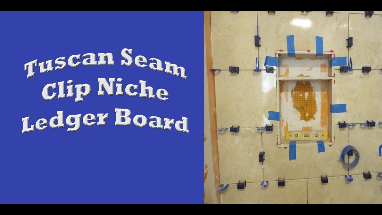 Schluter systems bathroom start to finish, Part 4 wall tile, Tuscan ...