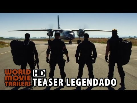 Os Mercenários 3 - Teaser Trailer #2 Legendado (2014) HD