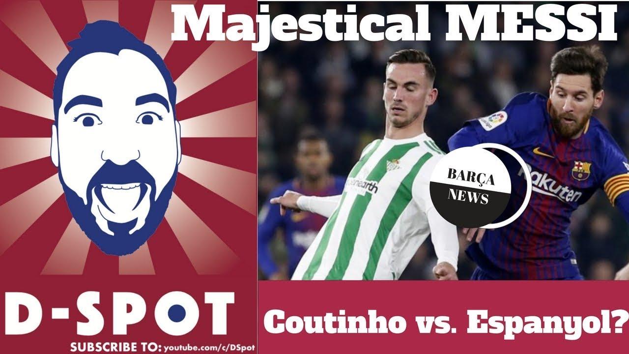 Barcelona vs Legans live blog: Lionel Messi bags a brace