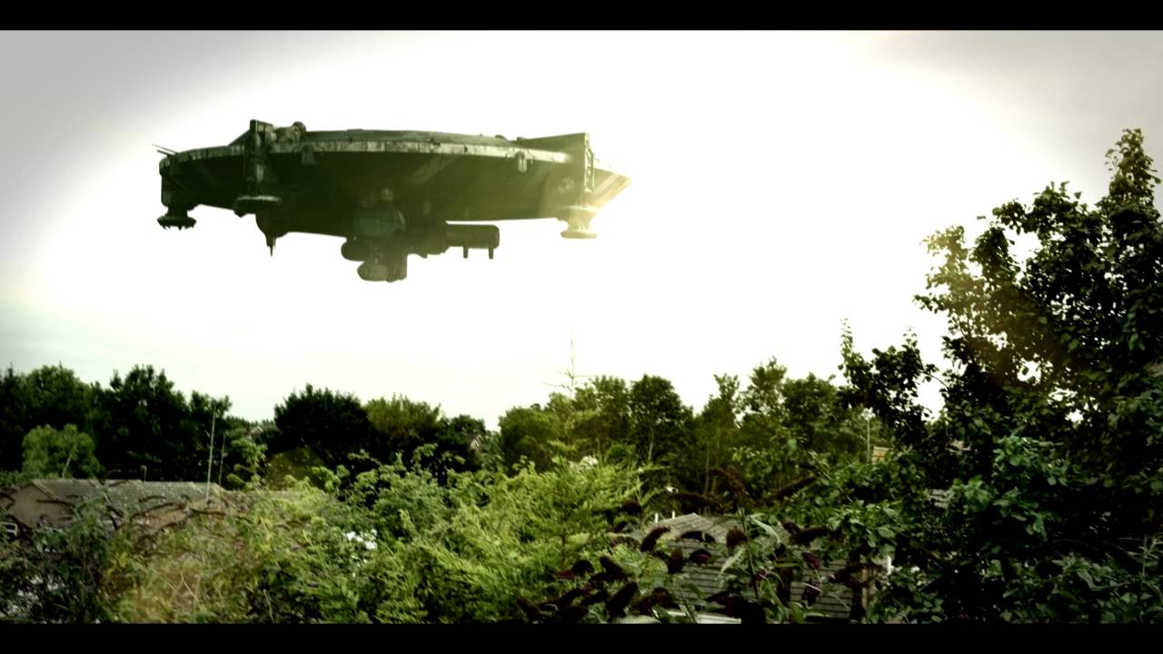 Vfx District 9 Ship After Effects Youtube