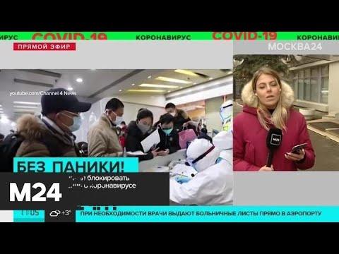 В Москве задержали авторов фейковых новостей о коронавирусе - Москва 24