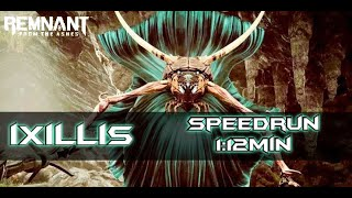 Remnant From The Ashes I Ixillis I Solo Speedrun in 1:12min
