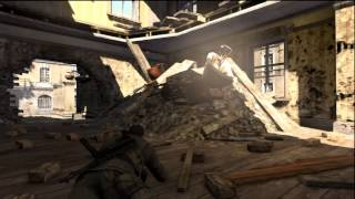 Sniper Elite V2 Xbox 360 Demo Gameplay (Comentado)