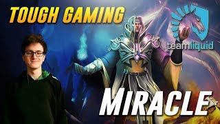 Miracle Invoker [THIS IS TOUGH GAMING..] - Dota 2 Pro MMR Gameplay