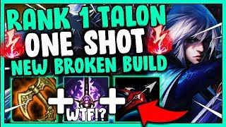 #1 TALON WORLD NEW S10 TALON BUILD(ONE SHOT) - League Of Legends